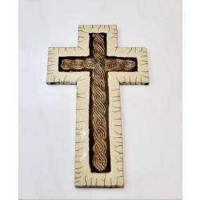 Križ  hrvatski pleter